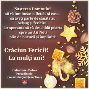 Lugoj Expres felicitare-Craciun-CJT-Actualitatea-Ziar-site
