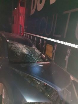 Lugoj Expres Accident grav pe DN 68A Lugoj-Deva! Un autoturism a fost prins între două TIR-uri victime vătămare corporală TIR persoane rănite Lugoj Ilia Făget dosar penal DN 68A Deva descarcerare Coșevița autoturism accident