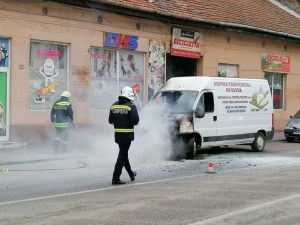 Lugoj Expres microbuz incendiu Lugoj 9
