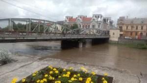 Lugoj Expres inundatii Lugoj Pod de Fier 3