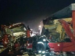 Lugoj Expres Accident cu două TIR-uri, pe autostrada A1 trafic rutier trafic blocat Lugoj Deva BBalinț autostrada A1 accident TIR-uri accident autostrada accident A1 accident