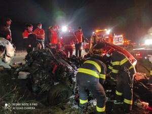 Lugoj Expres accident DN 6 12