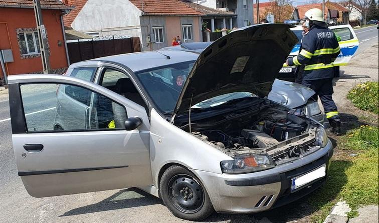 Lugoj Expres Coliziune între două autoturisme, la Coșteiu Coșteiu coliziune autoturisme avariate accident Coșteiu accident