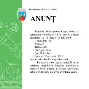 Lugoj Expres Anunt cosiri iarba (1)