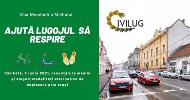 Lugoj Expres Inițiativă Civilug, de Ziua Mondială a Mediului: O zi fără mașini, în Lugoj Ziua Mondială a Mediului mijloc de transport alternativ Lugoj inițiativă fără mașini la Lugoj fără mașini Civilug