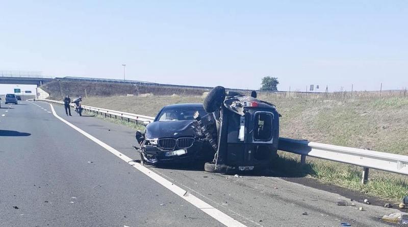 Lugoj Expres Accident pe autostrada A1 Lugoj-Timișoara victime Tpolovățul Mare Timișoara Lugoj două autoturisme autostrada A1 acroșat accident