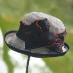루이엘 <b><앤드유-블></b> 클로슈 숏챙 세미정장 블랙햇 블랙모자 (3color)