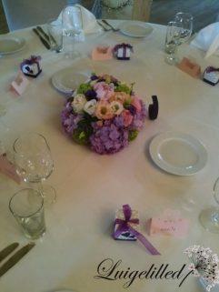 Pulmad, lauakaunistus, lilleseaded