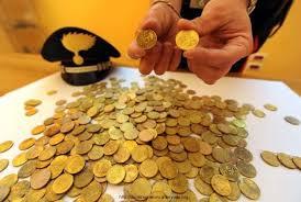 monete euro contraffatte
