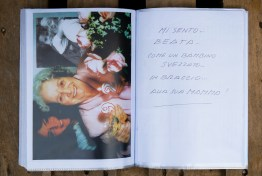 """""""i feel blessed like a child in its mother's arms"""". Some pages from Laura's screpbook."""