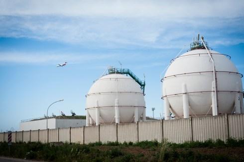 Deposito ex IPEM 1 e IPEM 2- deposito di stoccaggio di oltre 20.000 tonnellate di GPL.