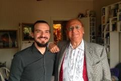 Luigi Scaglione e Renzo Arbore.