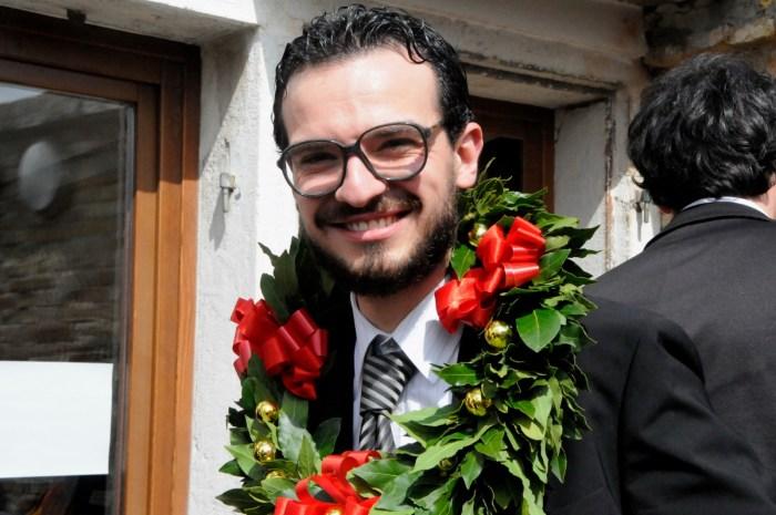 Luigi Scaglione - il giorno in cui ha discusso la tesi per Laurea Specialistica allo IUAV di Venezia