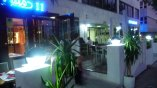 Nuestra terraza, por la noche