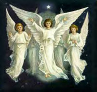 3 Angels in White