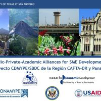 Replicating the Small Business Development Centers (SBDC) Model Throughout Central America