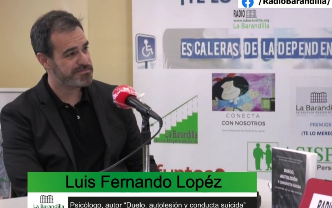 Entrevista a Luis Fernando López Martínez – II MARATÓN INTERNACIONAL EN PREVENCIÓN DEL SUICIDIO
