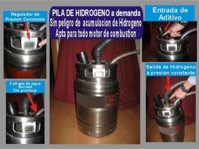 Generador de Hidrógeno a Demanda