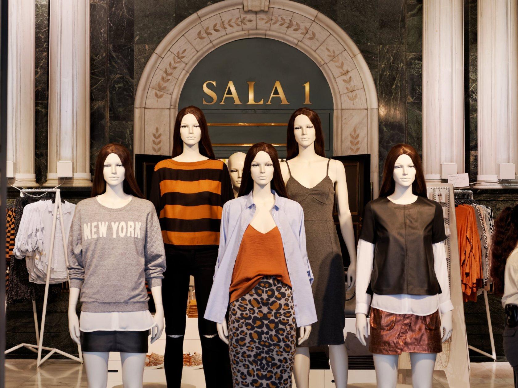 Cultura en Madrid, El antiguo Cine Avenida convertido en tienda de ropa. Fotografía de Luis F. Roncero.