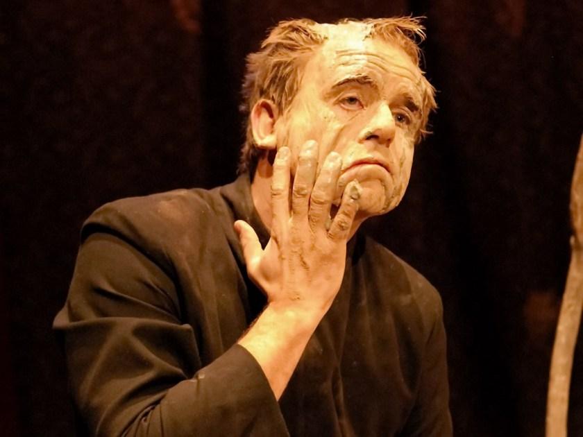 Juan Berzal en La sombra de Lear. Una obra de la compañía Ultramarinos de Lucas en la sala Cuarta Pared