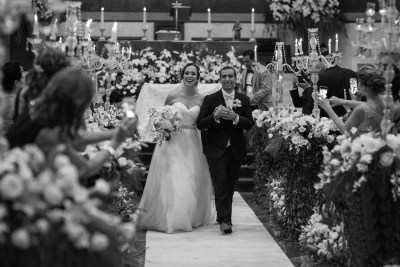 Wedding day Ceremony by Luis Ibarra Wedding Photographer in Mexico