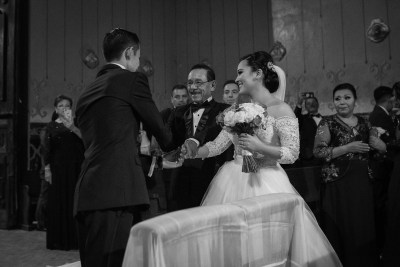 Wedding Ceremony by Luis Ibarra Wedding Photographer in Mexico