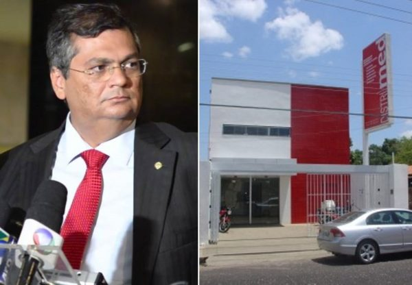 Governador do Maranhão e a sede da empresa Distrimed