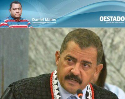 Desembargador José Joaquim quer intimidar o jornalista Daniel Matos