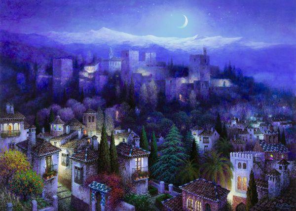 Bajo el cielo de Granada