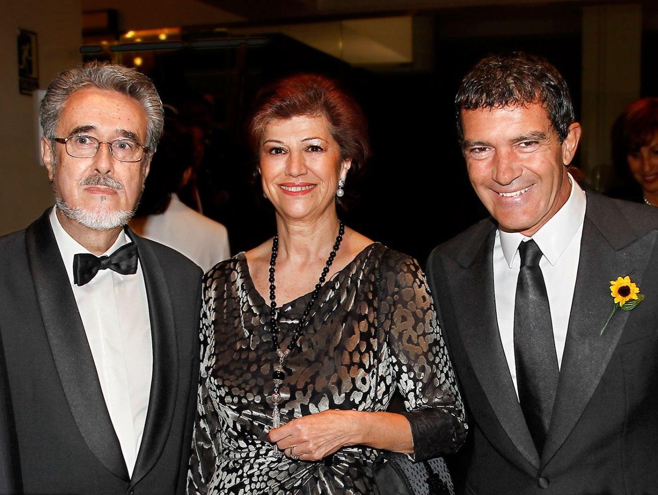 Luis Romero y Antonio Banderas