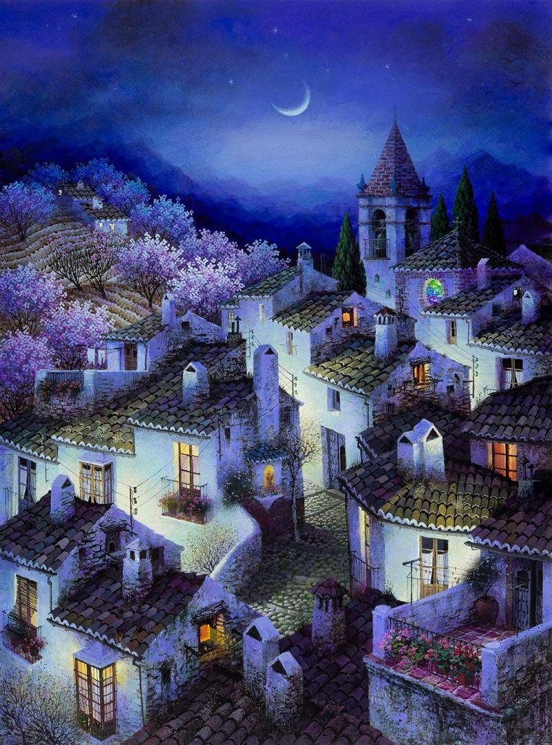 Nocturno azul