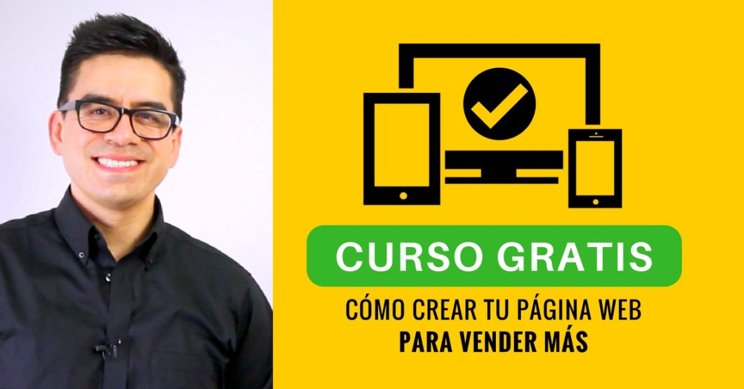 como crear pagina web vender mas curso gratis
