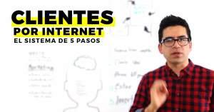 Cómo conseguir clientes por internet