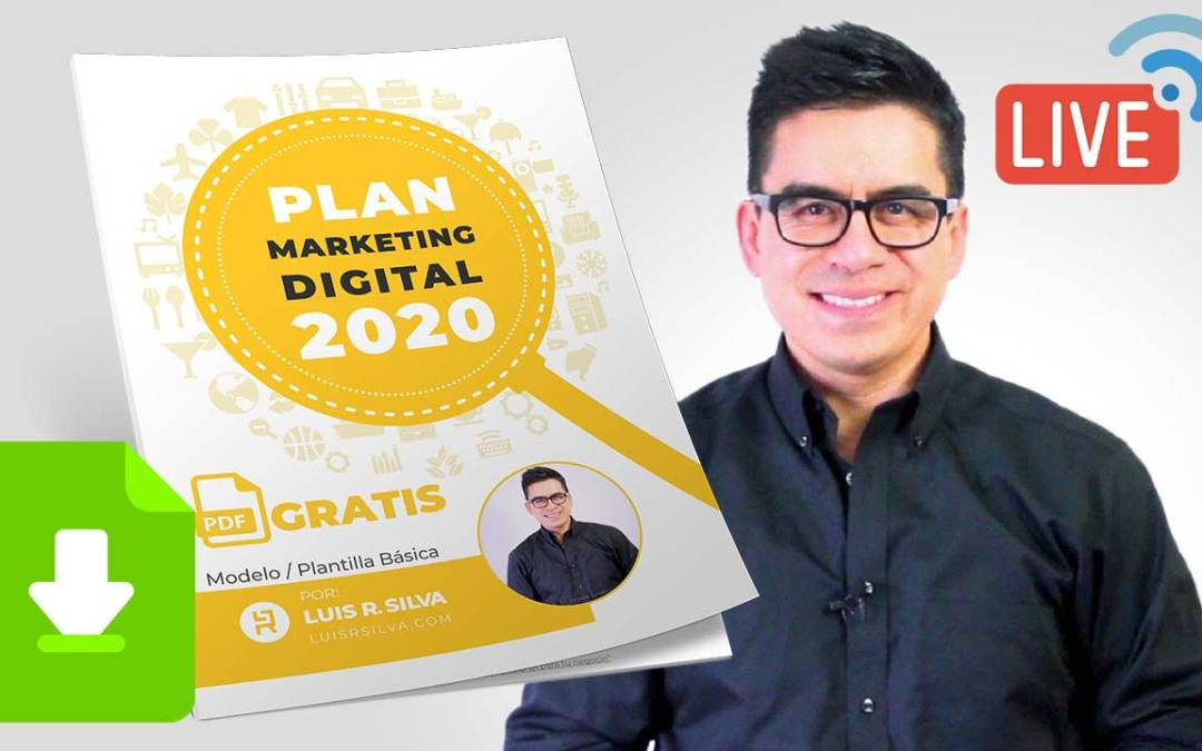 Plan de Marketing Digital para una Empresa – Ejemplo y Plantilla en PDF.