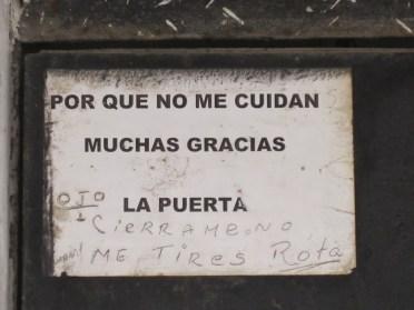 Y hasta los que dejan hablar a los objetos. (Cuba)