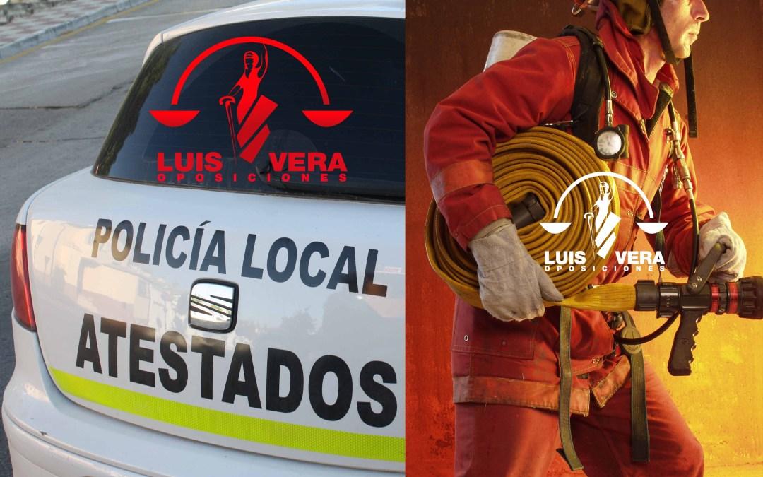 Policía Local y Bomberos….. varias plazas.