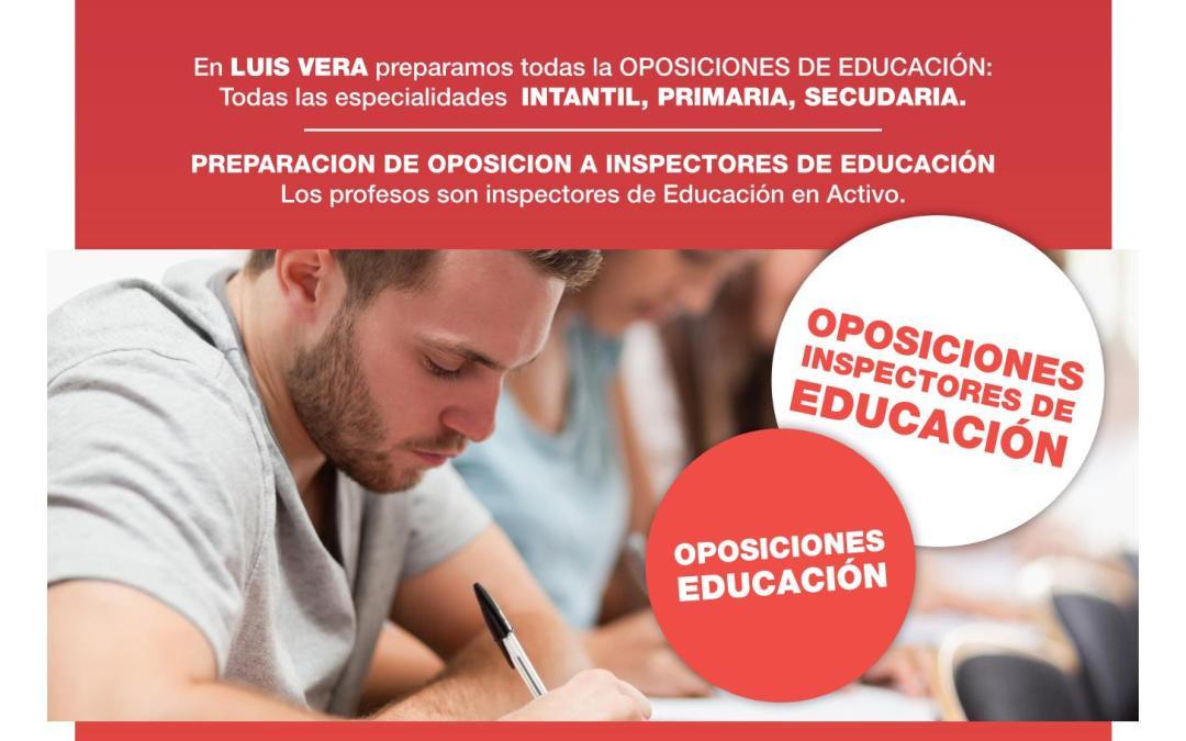 OPOSICIONES EDUCACIÓN – Sesiones Informativas