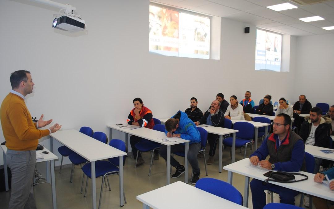 Se celebra en Linares una jornada de prevención de riesgos laborales