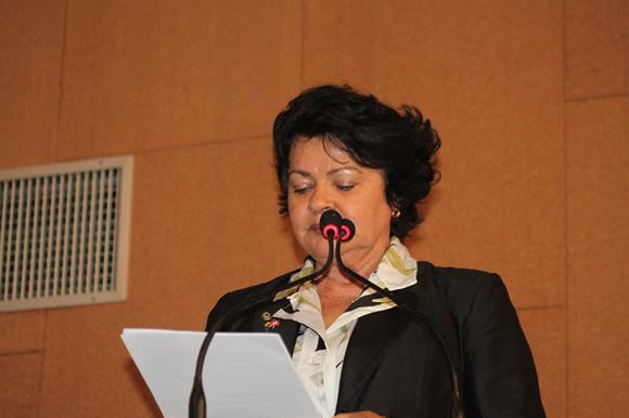 Luiza atualmente é Deputada Estadual pelo Partido dos Trabalhadores (PT)