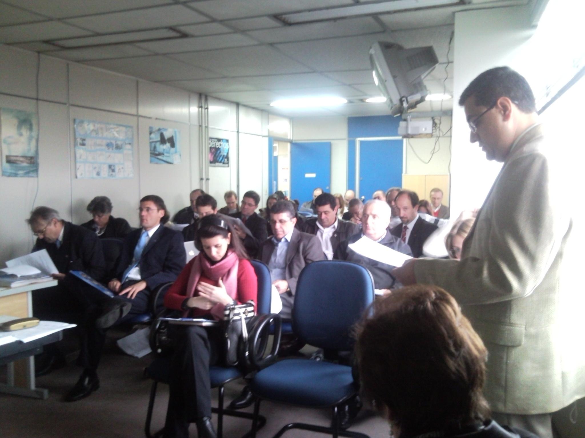Reunião da Coordenação do Fórum na SRTE/RS