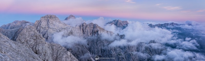Julian Alps panorama