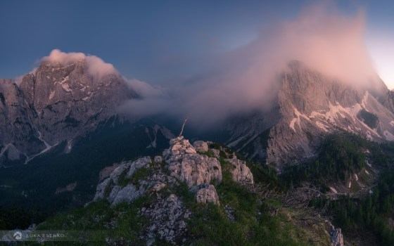Julian Alps panorama