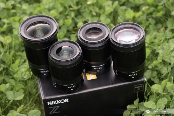 Nikon Z prime lenses