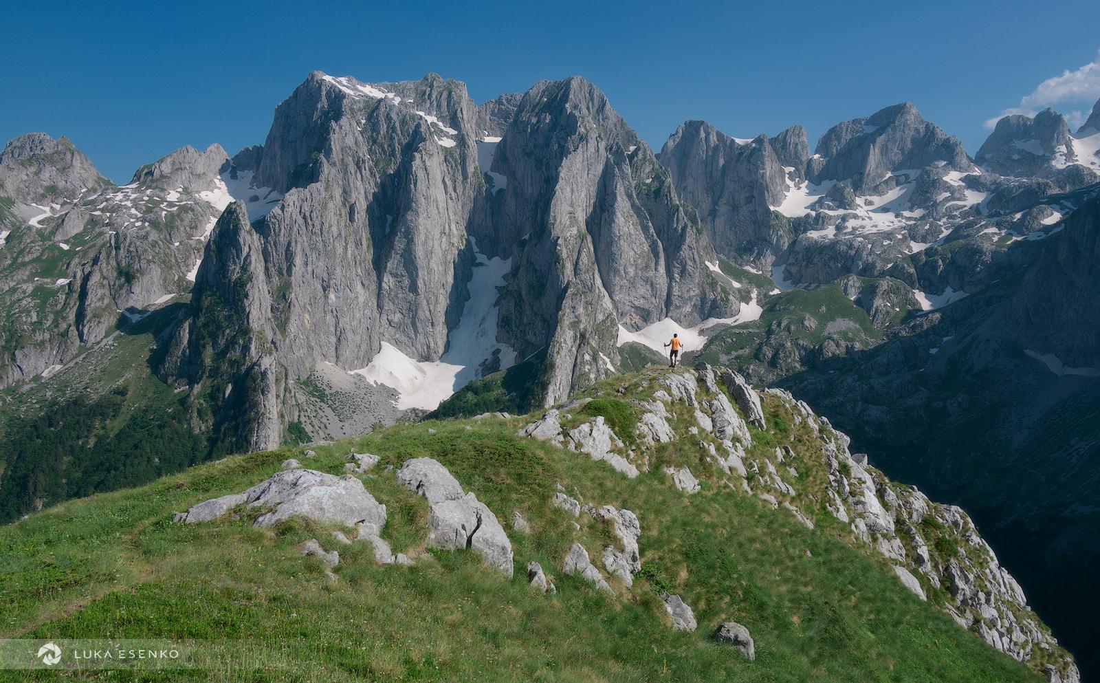 Hiking in Prokletije mountains, Volušnica and Popadija trail
