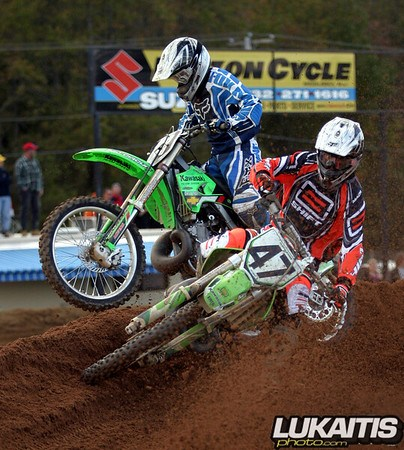 Jeff Emig stuffs Donnie McGourty