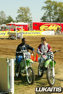 James Stewart and Michale Byrne before Sundays demo ride