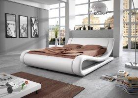 Designer Bett Orlando mit Farbauswahl