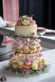 Hochzeitstorte mit Muffins 2020