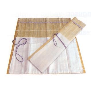 Porta-pincéis de bambú