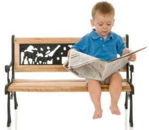 Reading I cute boy